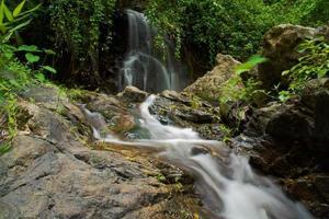 Gutorgo waterfall in tak province.Thailand