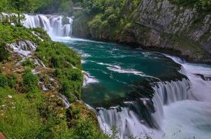 Waterfall Strbacki Buk on Una river