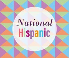 diseño del mes nacional de la herencia hispana