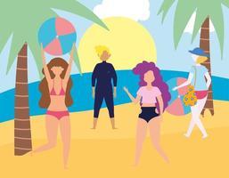 Summer people activities