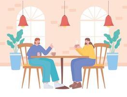 mujeres tomando café juntas