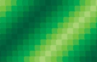 Abstract modern green square gradient background  vector