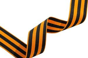 St. George ribbon on a white background