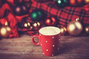taza con cafe foto