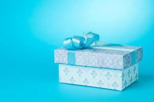 hermosa caja de regalo foto