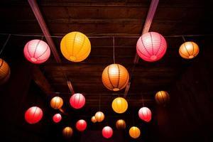Asian Globe lights photo