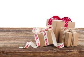 Handmade gift boxes photo