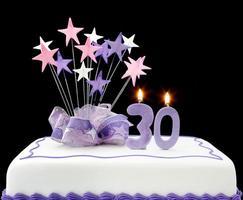 30th Cake photo