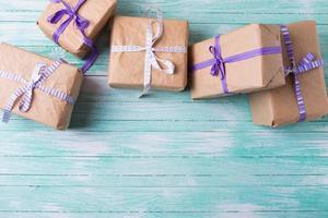 cajas de regalo foto