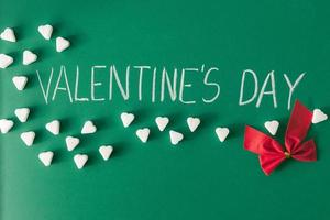 Valentines Day hand writing text
