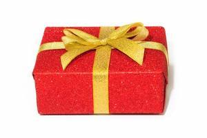 red gift box photo