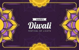 Colorful Happy Diwali Background