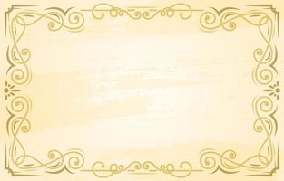 Vintage Ornament Border Background
