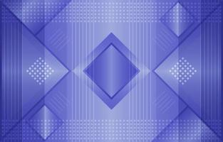 Blue E-meeting Background with Geometric Pattern Composition vector