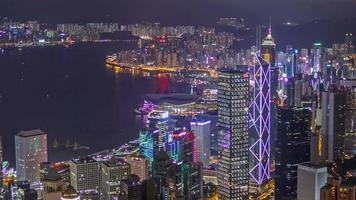 cityscape Timelapse in Hong Kong video