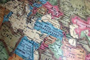 Midden-Oosten op de wereld