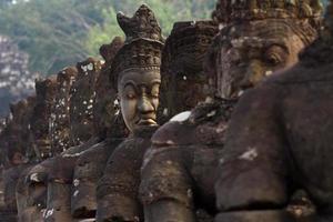 South gate of Angkor Thom photo