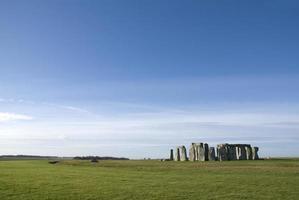 Stonehenge in Wiltshire County - England