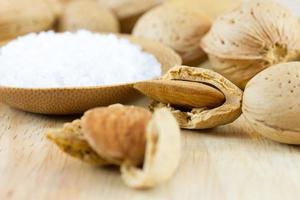 Almonds and sea salt