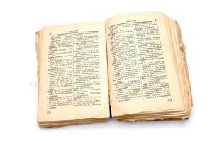 The old book - dictionary