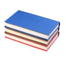 New Colorful Books isolated photo