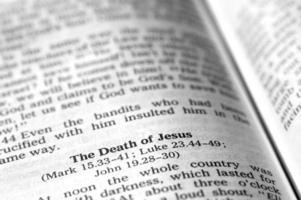 muerte de jesus foto