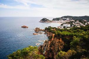 Mediterranean Sea-Side Town - Tossa Del Mar photo