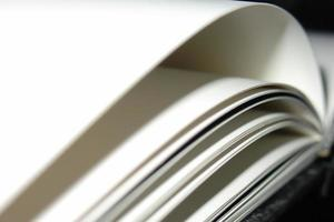 Pages of a book photo