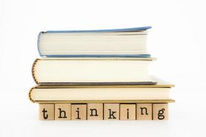 Thinking wording and books