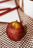apple and note book