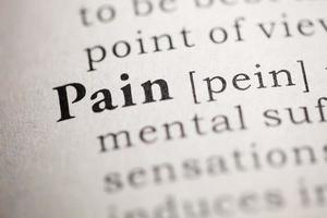 Pain photo