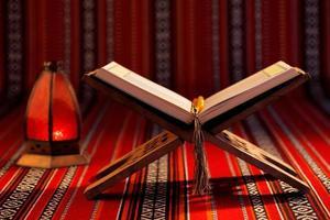 el corán es el texto religioso central del islam foto