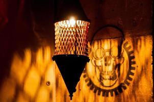 Lampe im Steampunk