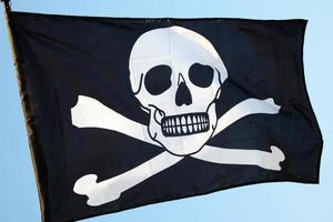 piratenvlag van skull and crossbones