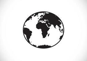 Globe earth icons themes idea design