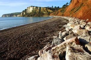 bierkliffen van Seaton Beach