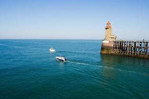 At sea photo