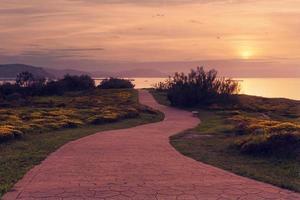 Path near the sea