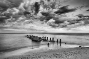 Baltic sea at beautiful landscape, nature