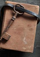 vintage key, background