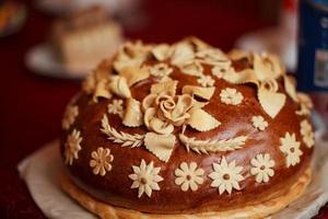 russian wedding cake photo