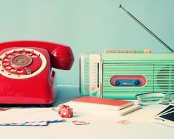 Red Phone and radio photo