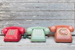 Retro Telephones photo