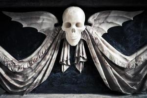 Winged Skull in Church