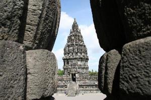 prambanan tempel, een hindoeïstische tempel gelegen in yogyakarta, centraal