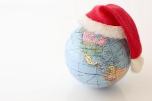 Christmas Globe - North and South Americas photo