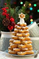 sapin de Noël en pain d'épice