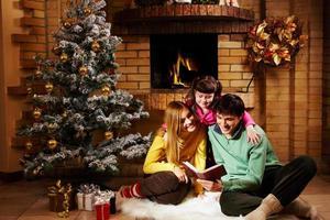 Reading fairy tales photo