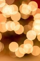fondo abstracto. Círculos de colores borrosos bokeh de Navidad