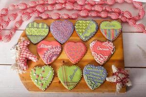 biscuits de Noël et jouets rétro faits à la main